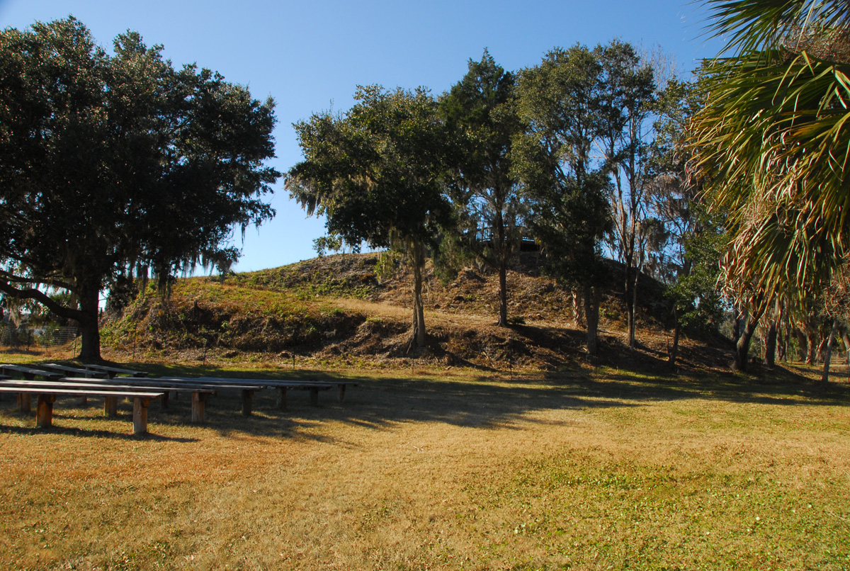 Haunted Shell Mound near Crystal River